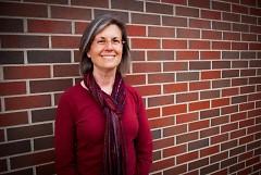 Theresa Hogerheide is president of the Fulton Street Farmers Market Board.