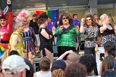 It can't be PRIDE without a drag show or two!