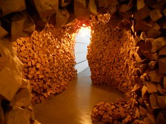 """Anxiety"" installation by Ryan McDaniel at the UICA for ArtPrize 2012"
