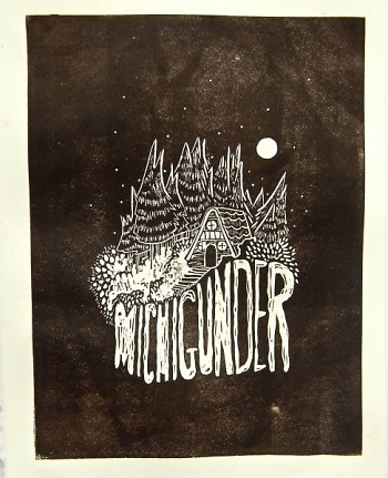 Michigunder Artwork was created by Morgaine Tempest Fambrough