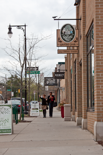 East Hills business district