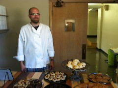 Eric Schalk, director of Breaktime Bakery.