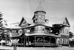 Evelyn Hall on the Bay View Campus is one of the finest examples of 1890s Queen Anne-style architecture.