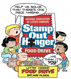 Stamp Out Hunger is the nation's largest single-day food drive.