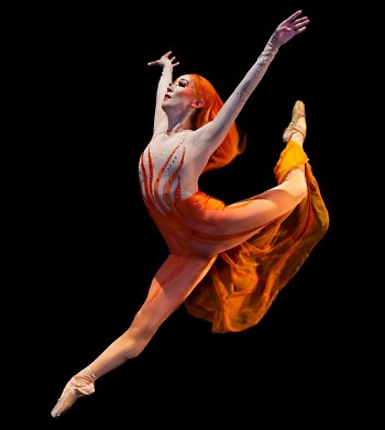 Yuka Oba-Muschiana in Yuri Possokhov's Firebird