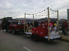 This float was designed and constructed entirely by the students at the ADC.