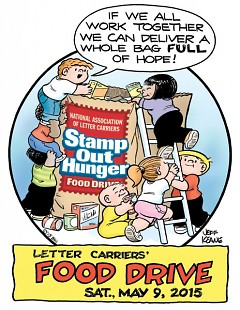 Grand Rapids has participated in Stamp Out Hunger since the event went national two decades ago.