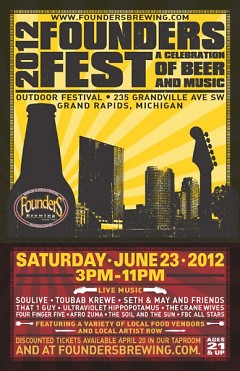 Poster for Founders Fest 2012