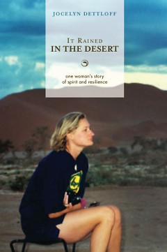 Cover of the book, It Rained in the Desert