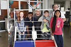 The FIRST Tech Team from Grand Rapids University Prep Academy