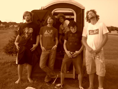 From left to right: Casey Lockwood, Jordan Houser, Jason Lohman, Max Quint, and Chris Lockwood.