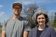 Plainsong Farm co-founders Mike Edwardson and Rev. Nurya Parish