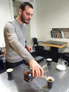Madcap Coffee co-founder Ryan Knapp.