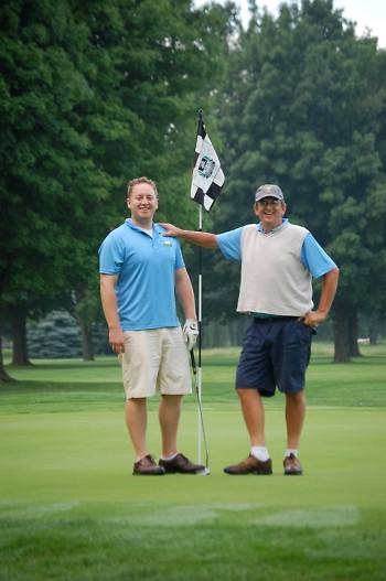 Duane Shore and Dan Bury were the first to complete 100 holes of golf, and they did it in 9 hours!