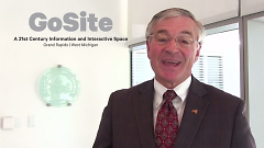Promotional video clip for GoSite