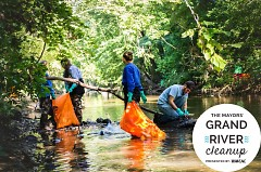 Mayors' Grand River Cleanup -  September 20th, 2014