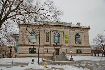 Front of the Grand Rapids Public Library's Main Library.