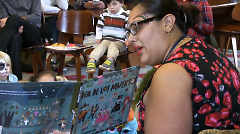 Bilingual story time during Family Day 2016.