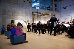 Grand Rapids Symphony performs during ArtPrize 2016 at Urban Institute for Contemporary Arts
