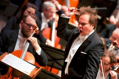 Grand Rapids Symphony's Marcelo Lehninger made his debut as Music Director on Oct. 28-29, 2016