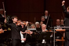 Violinist Stefan Jackiw was soloist in Erich Korngold's Violin Concerto in D Major with the Grand Rapids Symphony on March 3-4.
