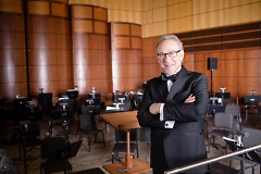 Bob Bernhardt is in his fourth season as Principal Pops Conductor of the Grand Rapids Symphony