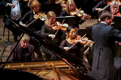 Pianist Jean-Yves Thibaudet joined the Grand Rapids Symphony in DeVos Performance Hall on Oct. 5-6, 2018