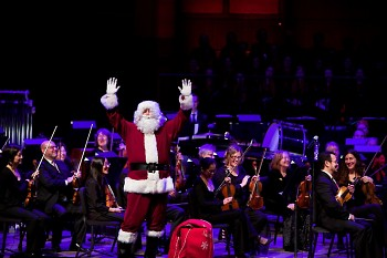 See Santa Claus at the Grand Rapids Symphony's Wolverine Worldwide Holiday Pops.