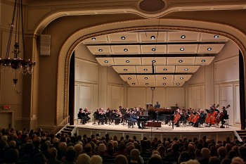 St. Cecilia Music Center, founded by women in the 1880s, welcomes the GR Symphony for a concert titled 'Celebrating Women.'