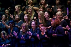 Grand Rapids Symphony Community Chorus under Duane Shields Davis performed at the 16th annual 'Symphony with Soul'