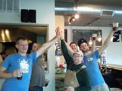 High Five Co-op Brewery visits Harmony Brewing Co.