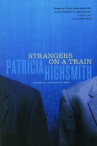 "Patricia Highsmith's ""Strangers on a Train"" is the current book for the #ReadSoHard book club."