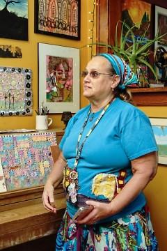 Artist Debra Dieppa