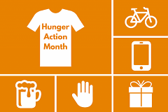 Hunger Action Month is a nationwide push to get people talking about food insecurity.