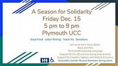 Details for Season for Solidarity event by Megan Walsh
