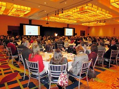 A packed house for the Economic Outlook Conference