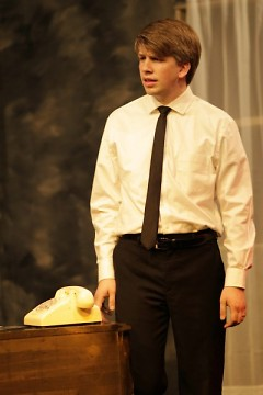 Colin Maxwell Beerens as Bobby Kennedy.