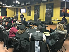 Grand Rapids community meeting with the GRPD