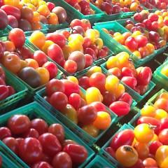 Michigan grown cherry tomatos