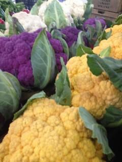 Purple & Cheddar Cauliflower
