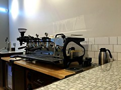 LaMorzocco espresso machine from Florence, Italy