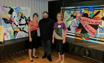 Members of Con Artist Crew