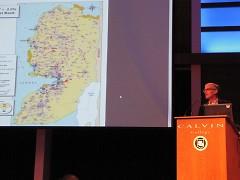 Norman Finkelstein at Calvin College on  Feb 1st