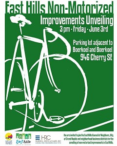 East Hills non-motorized improvements unveiling