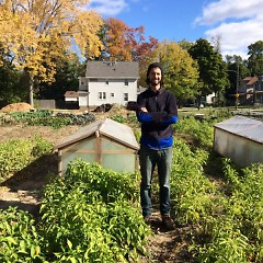 Levi Gardner, founder and executive director of Urban Roots, investigates what it means to humanize agriculture and education.