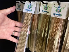 Specialty incense and other alternative lifestyle products can be found at Smokin Js