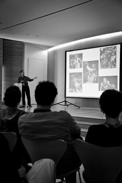 Marc Andreas of NetValue presents his idea