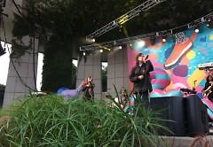 Tegan and Sara singing 'Drove Me Wild'