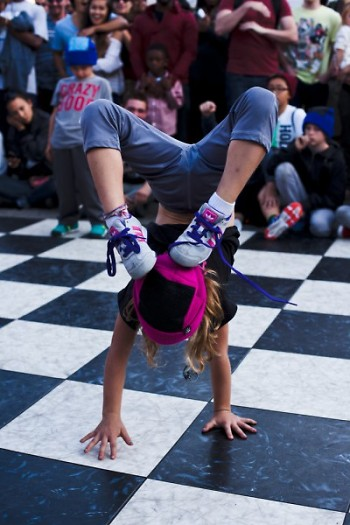 B-boy competition at 2013 Street Fair