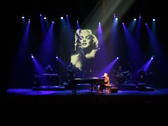 """""""The Piano Men"""" is a multimedia look at the decade from 1970 to 1980 in music plus visual images from the 1970s."""